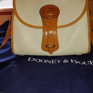 Dooney and Bourke vintage all weather leather bag